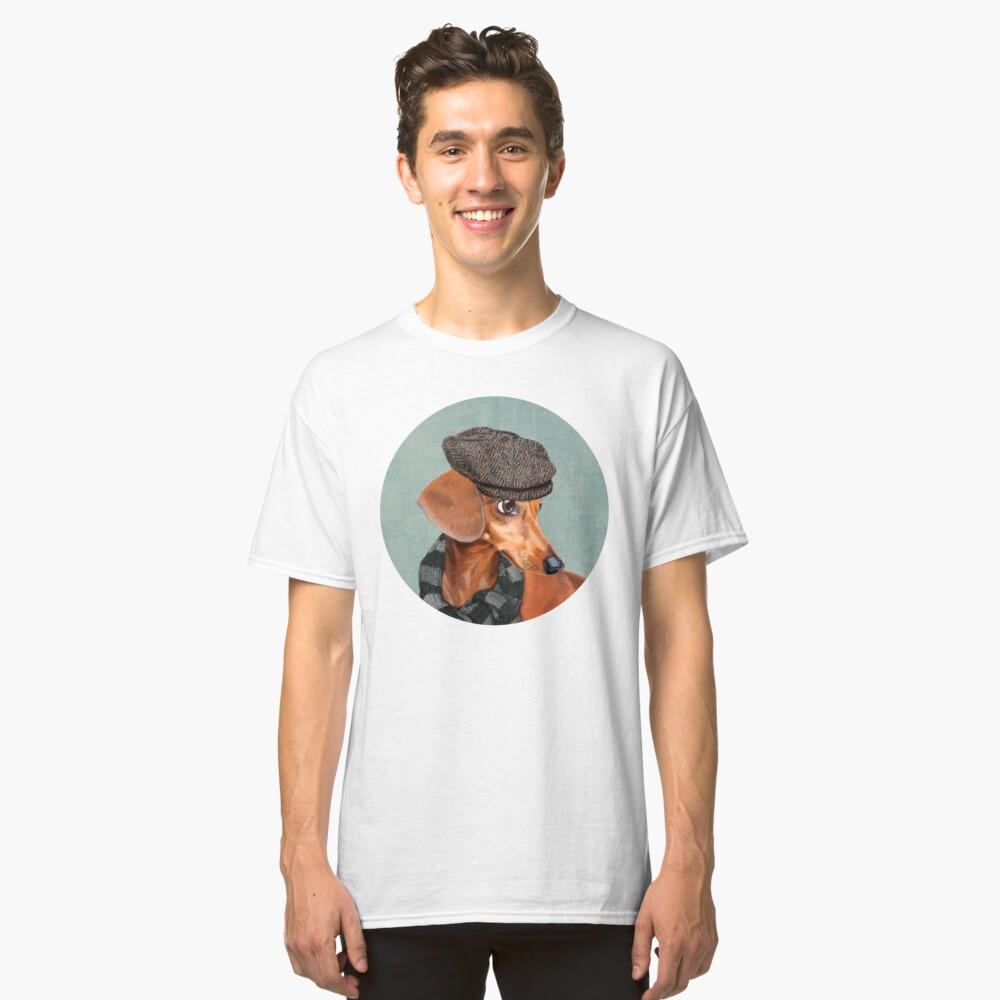 Elegante Sr. Dachshund Camiseta clásica