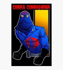 Cobra Commander Photographic Print