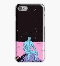Dr. Manhattan on Mars iPhone Case/Skin