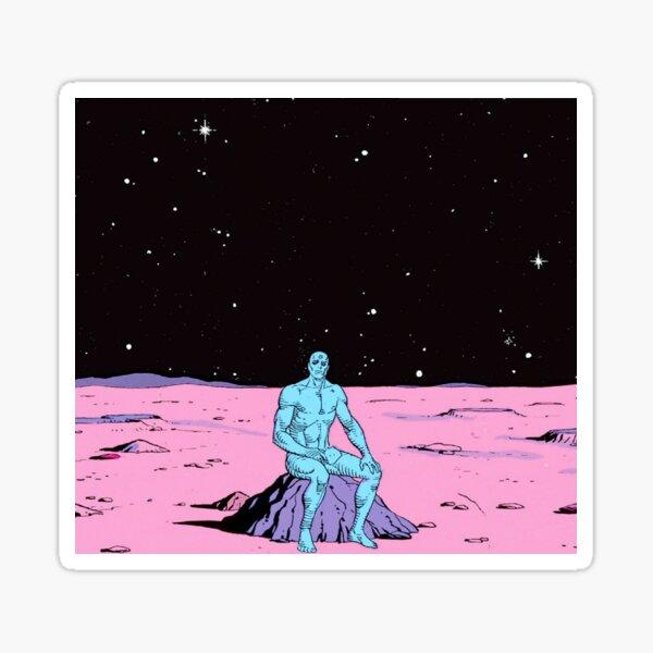 Dr. Manhattan on Mars Sticker