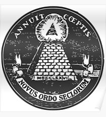 All-Seeing Eye-US Seal Reverse Poster