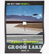 Visit Area 51 Poster