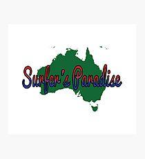 Surfer's Paradise Australia Photographic Print