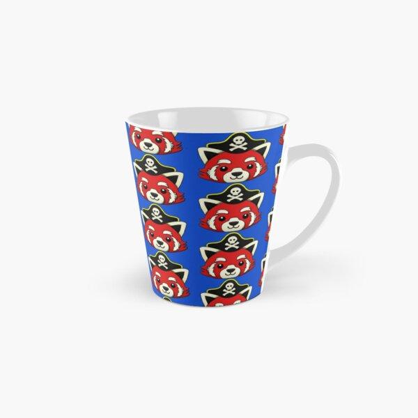Red Panda Pirate Pattern Tall Mug