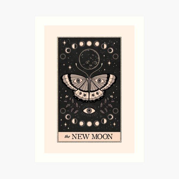 The New Moon Art Print