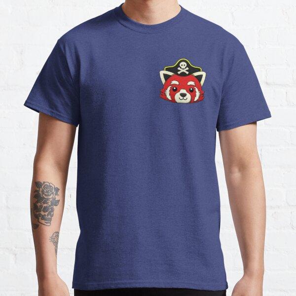 Red Panda Pirate Small T-shirt Classic T-Shirt