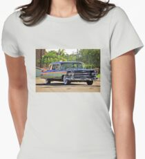 '59 Cadillac Fleetwood Limo Womens Fitted T-Shirt