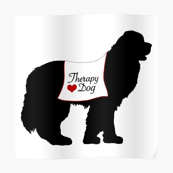Therapy Dog Poster