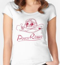 Red Pig Women's Fitted Scoop T-Shirt