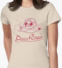 Red Pig Womens Fitted T-Shirt