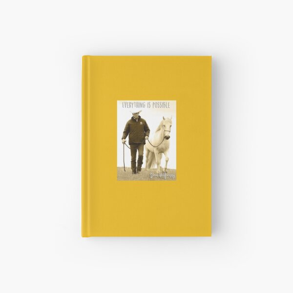 Everything is possible Hardcover Journal