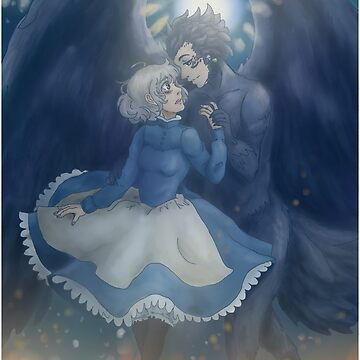 howl's moving castle by WingEdFish