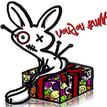 Voudou Bunny - Presents by pyratesimage