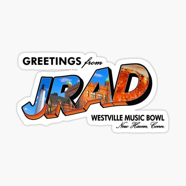 JRAD - Joe Russo's Almost Dead - Westville Music Bowl Sticker