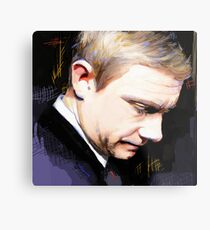 Martin Freeman Artwork Design 1 Metal Print