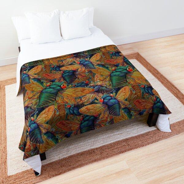 Brood X Swarm Comforter