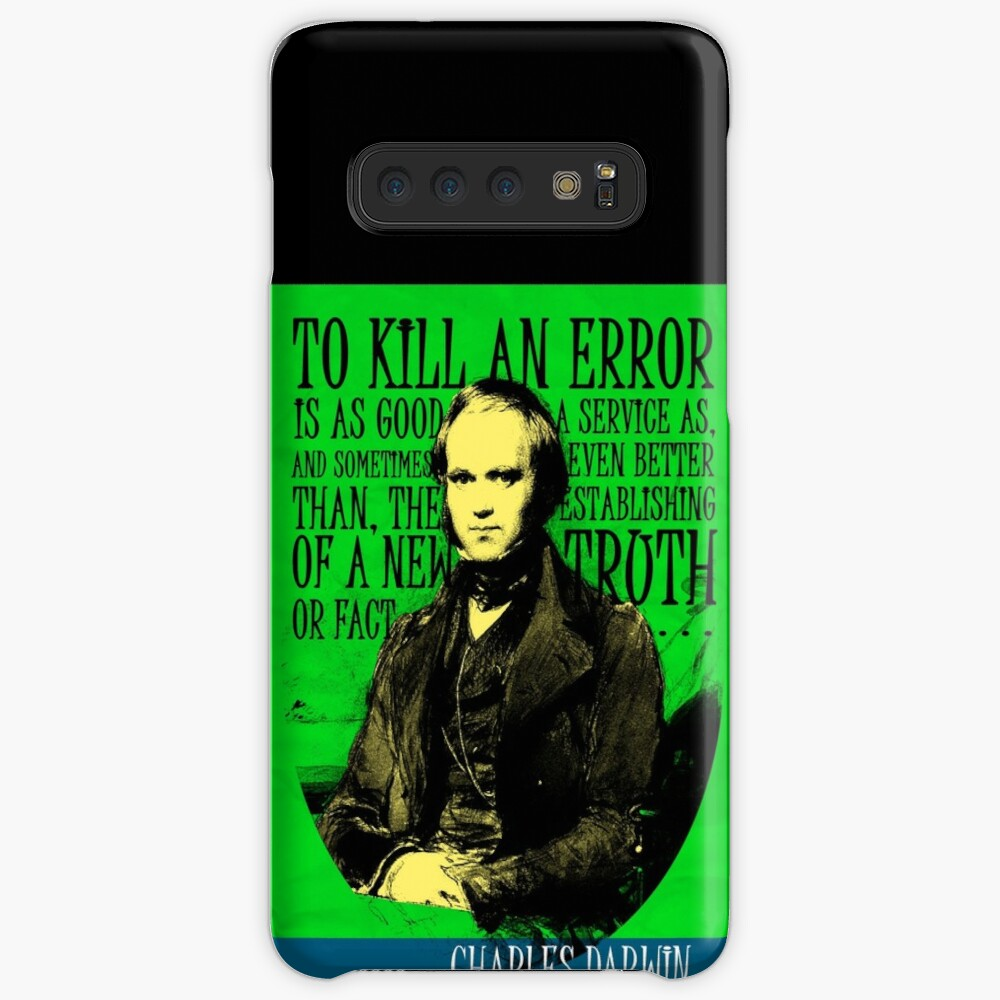 Charles Darwin Quote 2 Case & Skin for Samsung Galaxy
