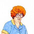 Sandy Friday the 13th Waitress by Jason Edward Davis