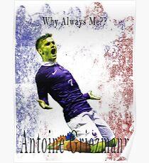EURO 2016 ANTOINE GRIEZMANN Poster