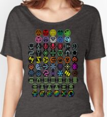 Phantasy Star Online - Icons Women's Relaxed Fit T-Shirt