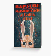 Bioshock - Masquerade ball 1959 Greeting Card