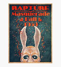 Bioshock - Masquerade ball 1959 Photographic Print