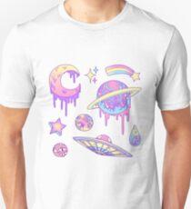 Camiseta unisex Pastel Galaxy