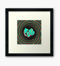Funh Square Logo (pillow looks cool) Framed Print