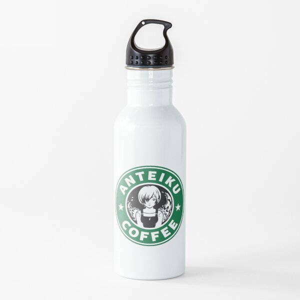 Anteiku Café Logo, Tokyo Ghoul Starbucks Parody - Touka Version Water Bottle
