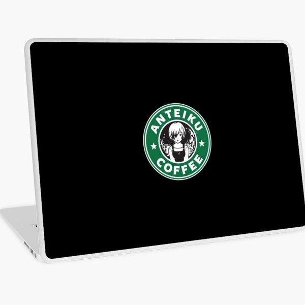 Anteiku Café Logo, Tokyo Ghoul Starbucks Parody - Touka Version Laptop Skin