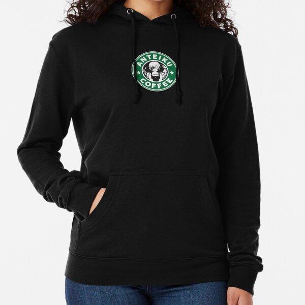 Anteiku Café Logo, Tokyo Ghoul Starbucks Parody - Touka Version Lightweight Hoodie