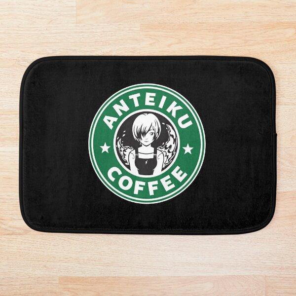 Anteiku Café Logo, Tokyo Ghoul Starbucks Parody - Touka Version Bath Mat