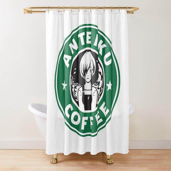Anteiku Café Logo, Tokyo Ghoul Starbucks Parody - Touka Version Shower Curtain