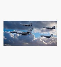 RAF Typhoon Squadron Photographic Print