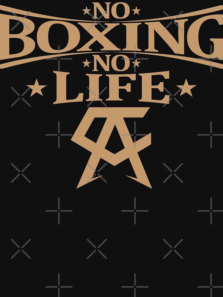 No Boxing No Life Gold by sleekjuan