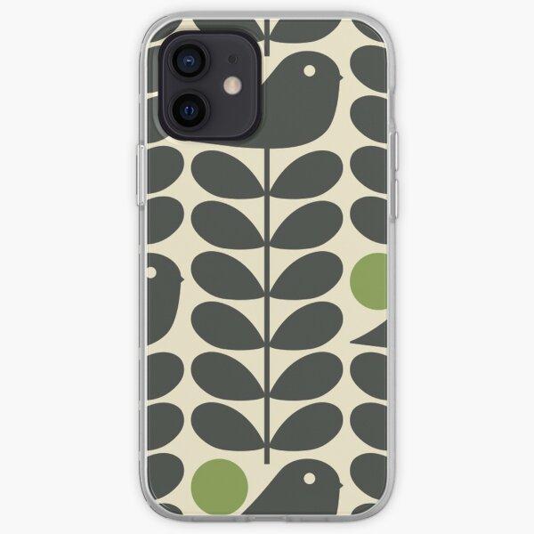 Retro season Bird iPhone Soft Case