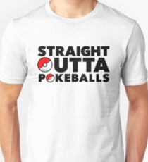 Straight Outta Pokeballs - Pokemon GO Unisex T-Shirt