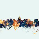 Madison Wisconsin Skyline by Michael Tompsett