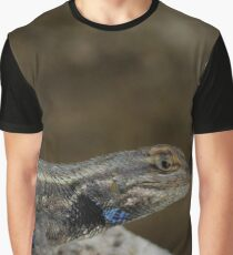 Eastern fence lizard Graphic T-Shirt