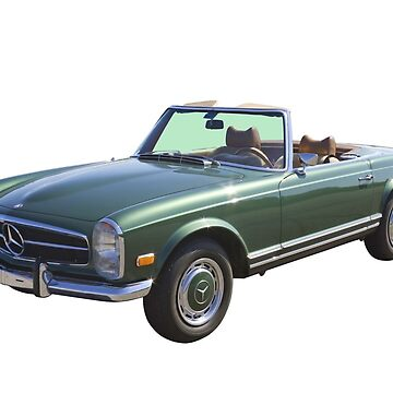 Mercedes Benz 280 SL Convertible by KWJphotoart