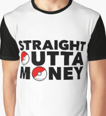 Pokemon Go - Straight Outta Money Graphic T-Shirt