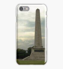 Wellington Monument iPhone Case/Skin