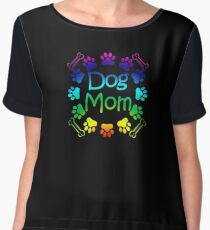 Dog Mom Chiffon Top