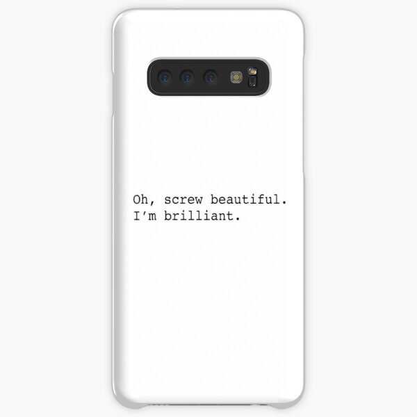 Tornillo hermoso Funda rígida para Samsung Galaxy