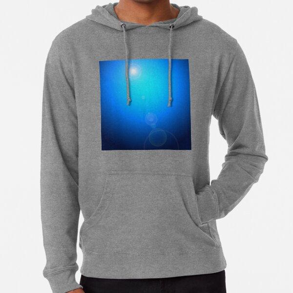 Background with blue spotlight. Lightweight Hoodie