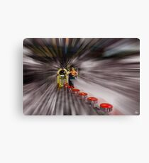 Flashback (To the Hop) Canvas Print