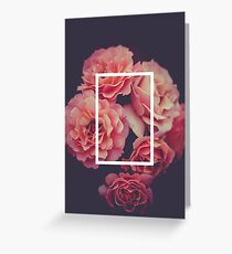 The 1975 Floral Rectangle Greeting Card