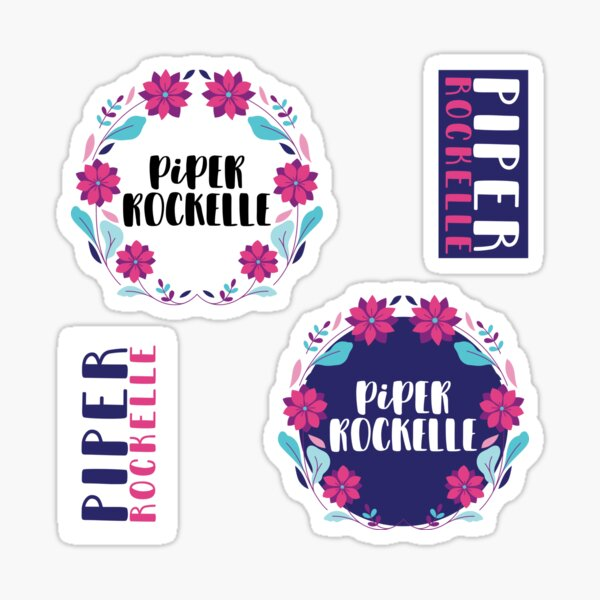 Piper Rockelle, Piper Rockelle Merch, Piper Rockelle Youtube Star Sticker
