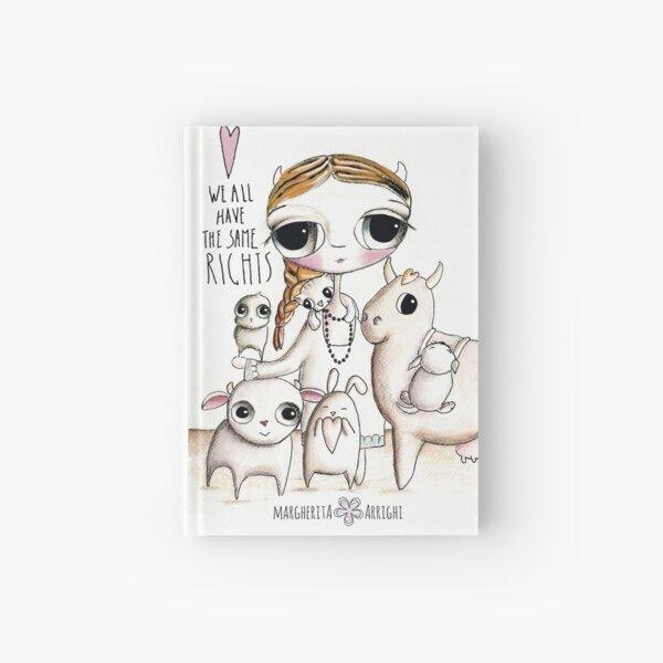 Animal right Hardcover Journal