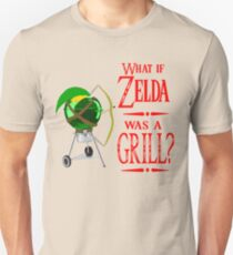 Was, wenn Zelda ein Grill war? Slim Fit T-Shirt